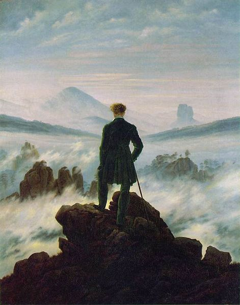 Silence !  - Page 37 Caspar_david_friedrich_wanderer