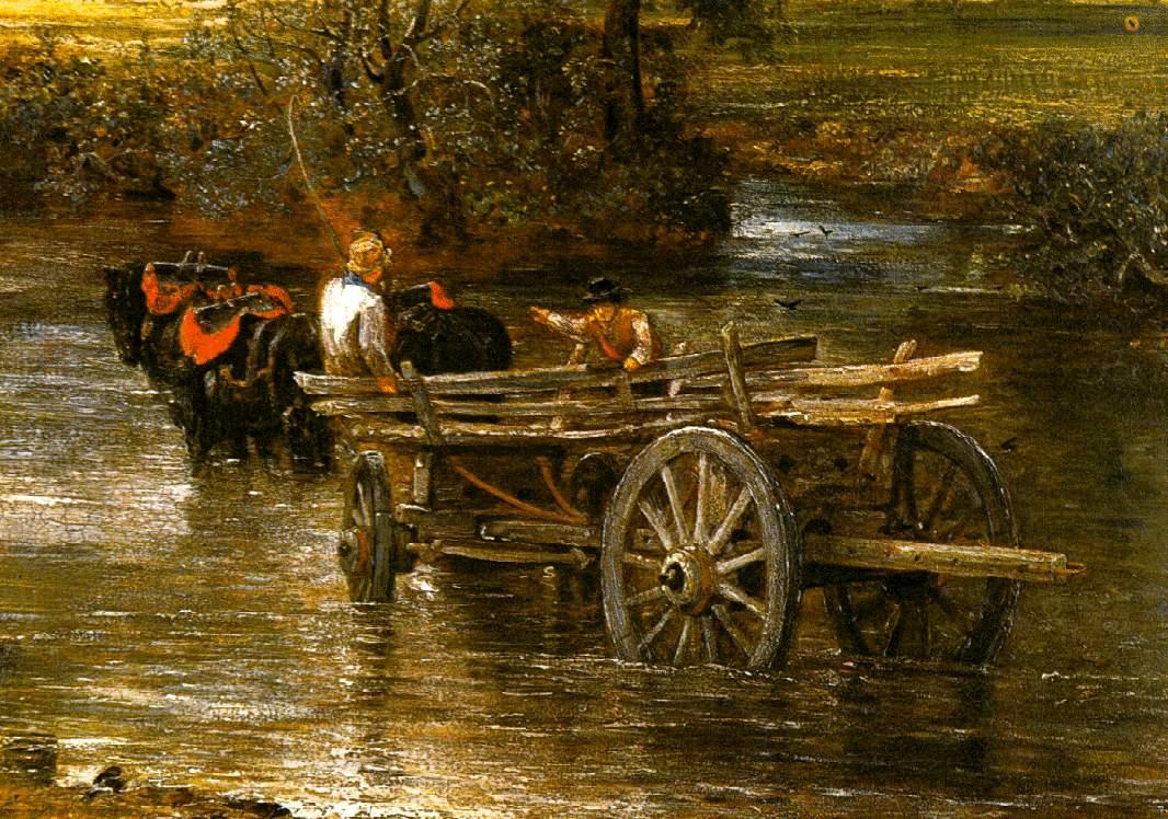 John Constable The Haywain John_Constable_carro_d...