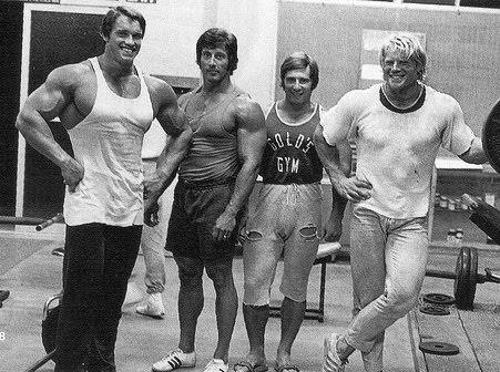 arnold-gold_s-gym-3 Frank Zane Bench Press